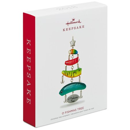 Hallmark Keepsake 2018 O Fishmas Tree Ornament (Hallmark Halloween Tree Ornaments)