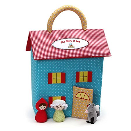 Riding School Playset - Gund Little Red Riding Hood Dollhouse Playset