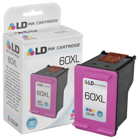 LD © Remanufactured Replacement Ink Cartridge for Hewlett Packard CC644WN 60XL / 60 High-Yield (Hewlett Packard 700 Series)