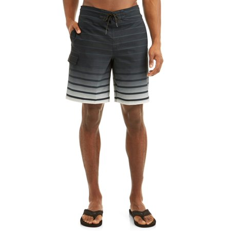 48fbe8ef01 George - Men's Gradient Stripe Eboard 9-Inch Swim Short, up to size 5XL -  Walmart.com