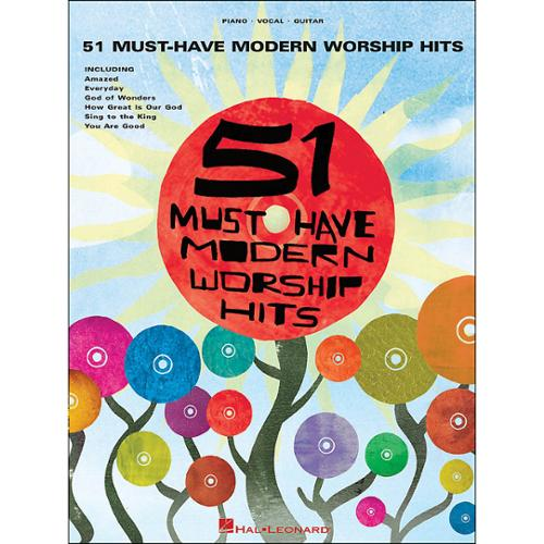 Hal Leonard 51 Must-Have Modern Worship Hits- (P/V/G)