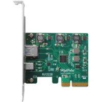 HighPoint PCI-Express 3.0 Host Interface, Dual USB 3.1 Gen 2.0 Ports