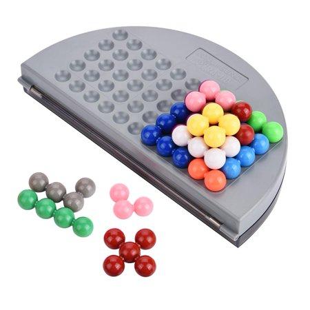 Qiilu Kids Educational Puzzle Set Parent-Child Intelligent Logic Beads Building Challenge Game Toys, Plastic Puzzle Set, Kids Puzzle Toy - image 4 de 13
