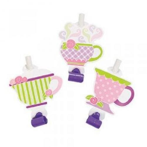 Fun Express Paper Tea Party Blowouts (1 dz)