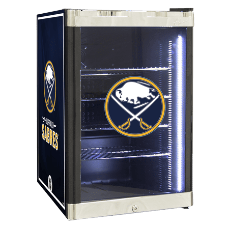 NHL Refrigerated Beverage Center 2.5 cu ft Buffalo Sabres by
