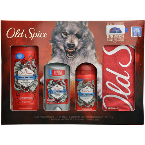 Old Spice Wolfthorn Wild Collection Set, 5 pc