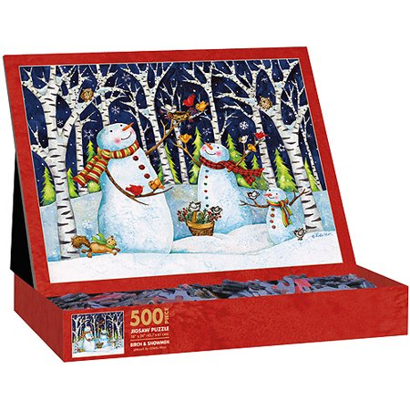Lang Birch and Snowmen Puzzle