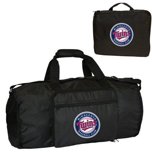 MLB - Minnesota Twins Fold-Away Duffle Bag