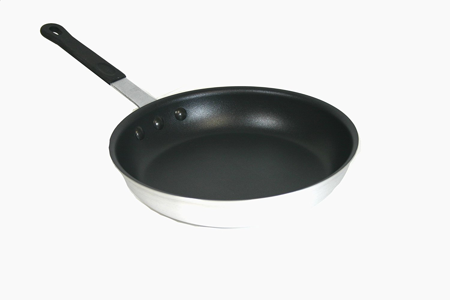 12-Inch Non-stick Natural Aluminum Frying Pan, non stick surface By Paderno World Cuisine by