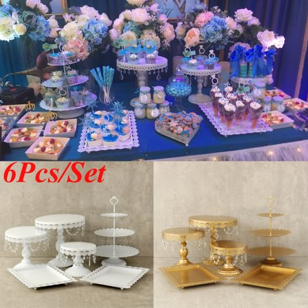 Crystal Metal Cake and Cupcake Stand & Towers Dessert Display Stand for Birthday Wedding Parties - Cupcake Tower Diy