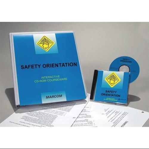 MARCOM C0001000SD Construction Safety Training, CD-ROM