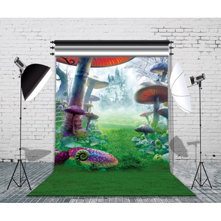 GreenDecor Polyster 5x7ft Wonderland Photo Backdrops Studio Background Studio Props