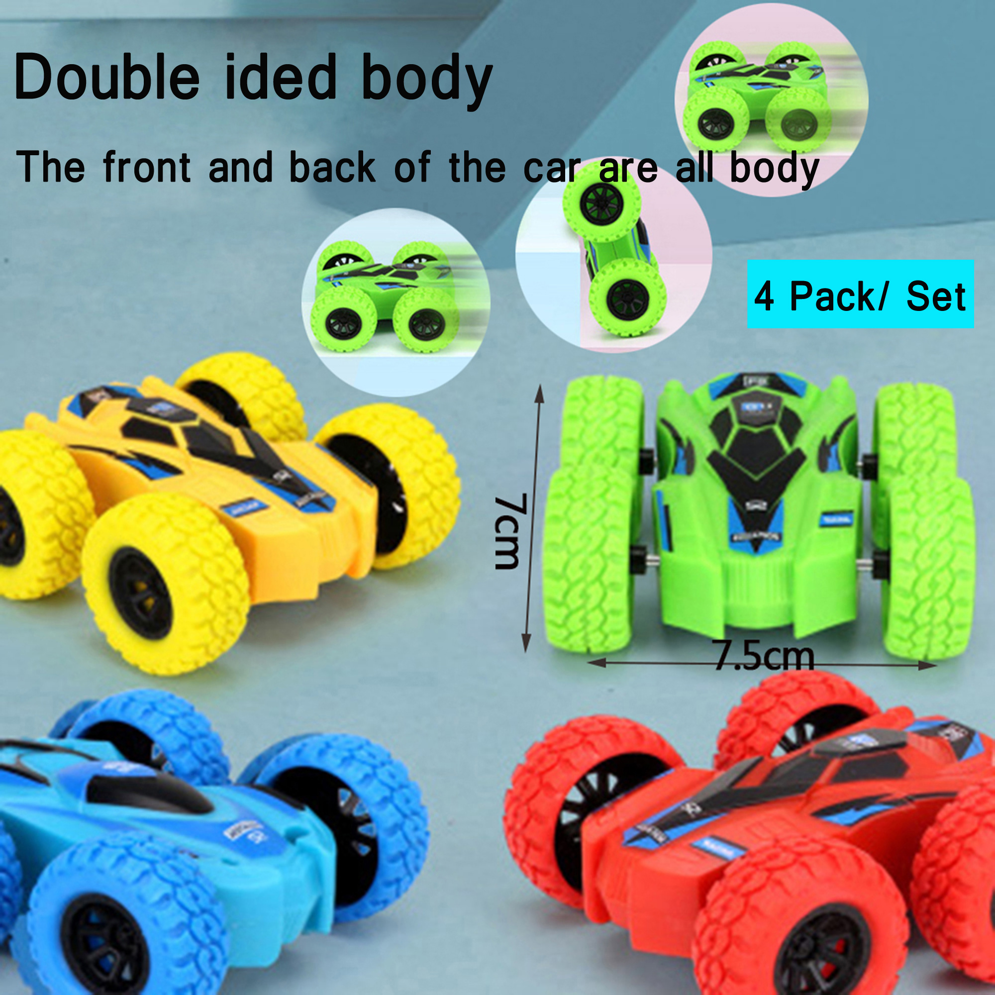HAPPY DEALS ~ Pull Back Friction Construction Vehicle Trucks Bulk Class Pack of 24