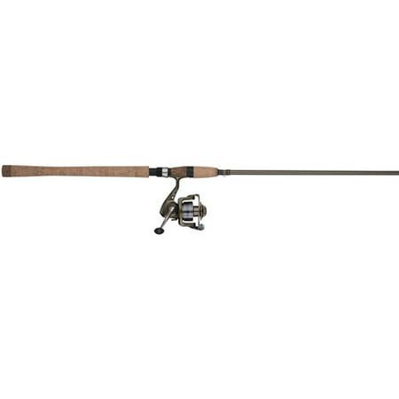 Shakespeare Wild Series Salmon/Steelhead Spinning Reel and Fishing Rod (Street Rod Series)