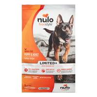 Nulo FreeStyle Grain-Free Limited Ingredient Diet Turkey Dry Dog Food, 10 Lb