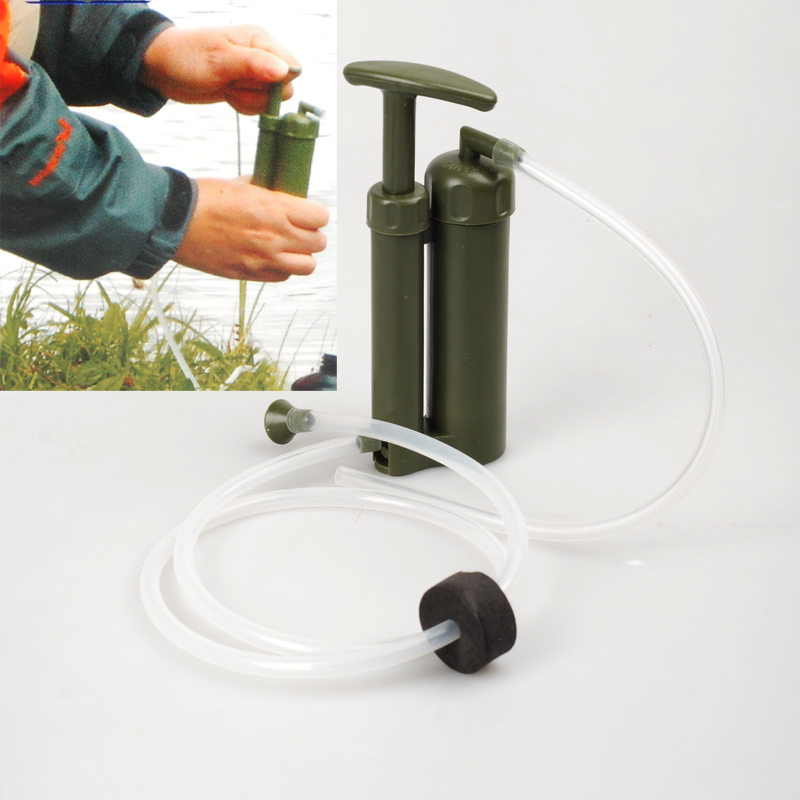 Army Soldier Water Filter Purifier Purification System Kit Portable for Outdoor Emergency