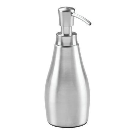 Interdesign 39350 Rustproof Alumina Kitchen Bathroom Vanities Brushed Soap Dispenser Pump