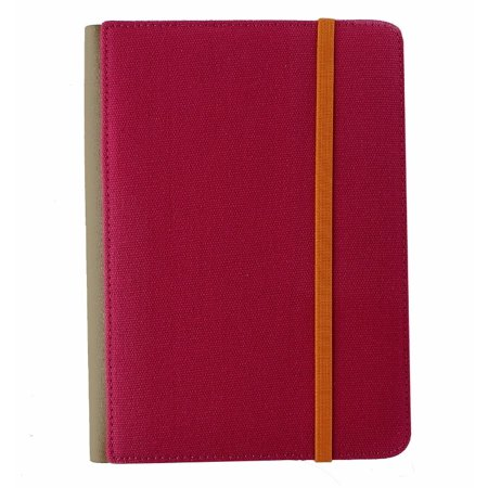 - M-Edge Trip Jacket Folio Protective Case Cover for Kindle 4, Touch - Pink/Orange (Refurbished)