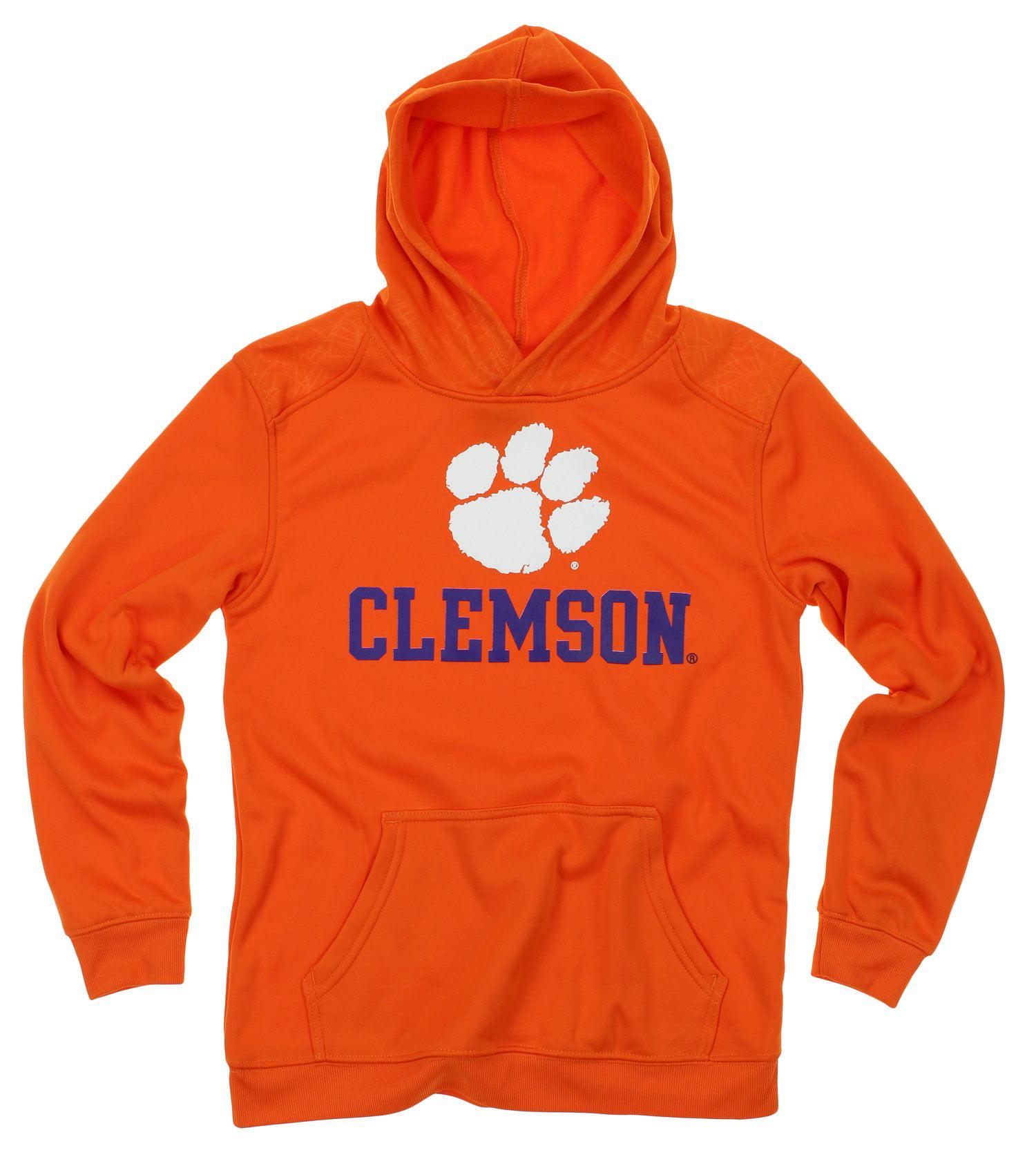 NCAA Youth Clemson Tigers Performance Hoodie, Orange