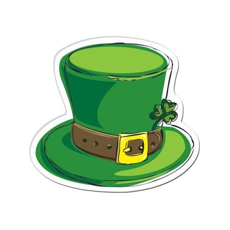 Saint Patrick's Day Leprechaun Hat Cut Out Decoration](Leprechaun Decorations)
