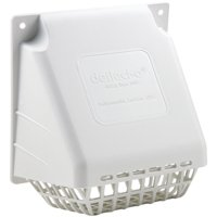 Deflecto HR4W Four-Inch Wide Mouth Replacement Vent Hood