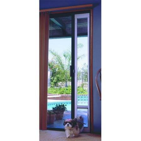 Ideal Pet Products PAYMB Medium Patio Door-Bronze Finish 77 5/8-80 3/8