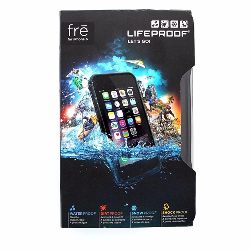 LifeProof Waterproof Fre Case for Apple iPhone 6 Only - Black