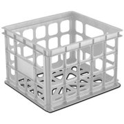 16928006 WHT Stor Crate, This product adds a great value By STERILITE