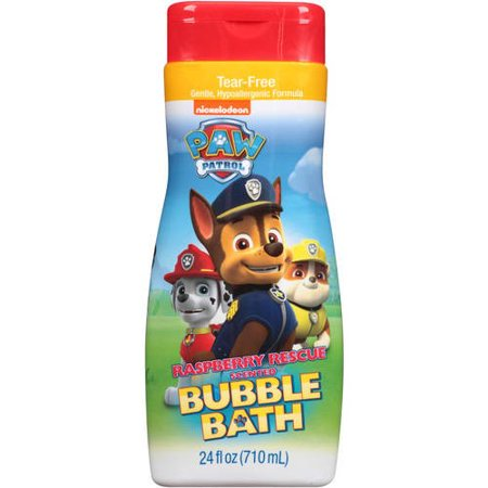 Paw Patrol Rasbery Rescue Bubble Bath, 24 oz