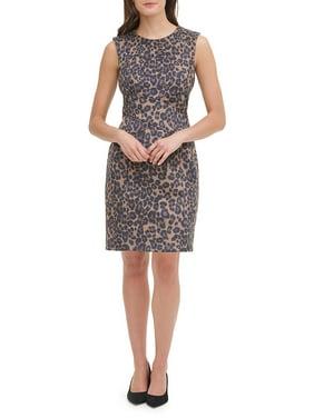 Feline Femme Sheath Dress