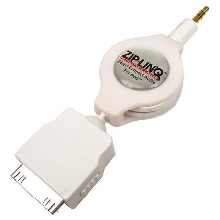 Cables Unlimited 3.5-mm to iPod Connector Cable (White)