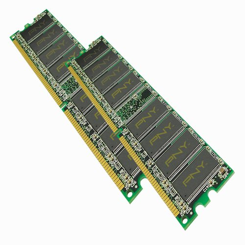 PNY Optima 2GB (2 x 1GB) 184-Pin DDR SDRAM DDR 400 (PC 32...
