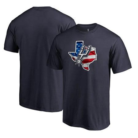 San Antonio Spurs Fanatics Branded Banner State T-Shirt - Navy ()