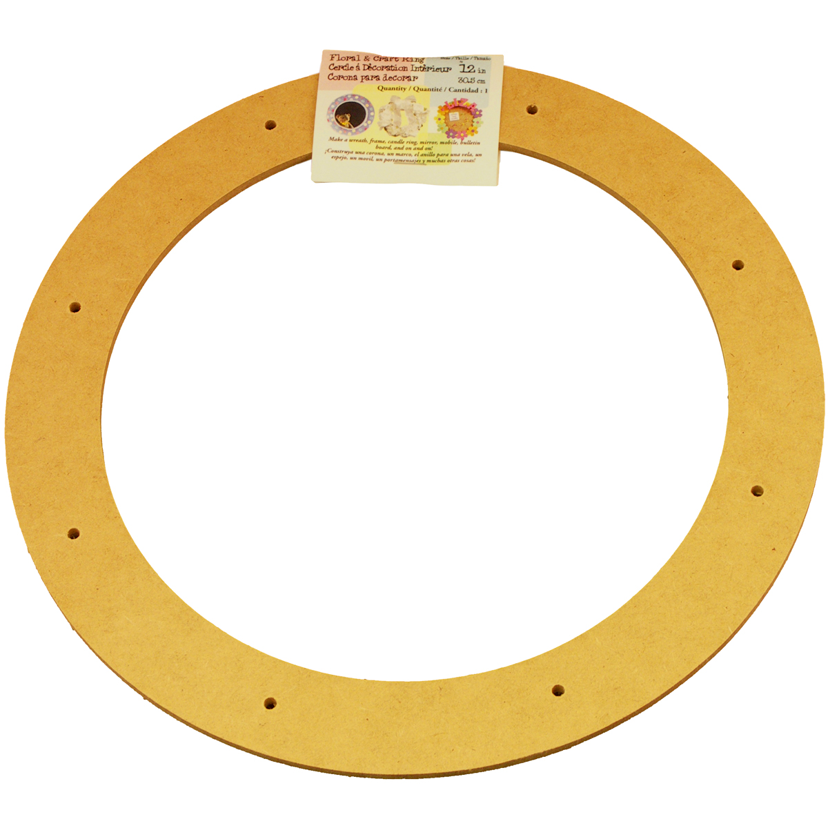 Biodegradable Craft Ring, 12""