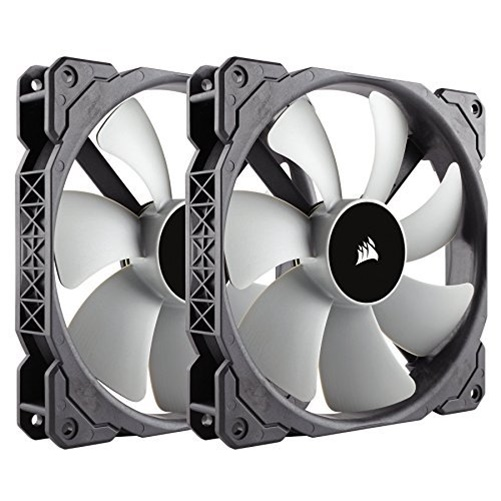 Corsair Air ML140 140mm PWM Case Cooling Fan - 2 Pack
