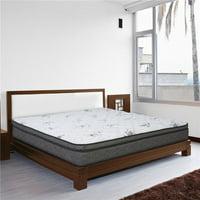 Wolf Mattress OLE3-1050 Legacy Pillow Top Mattress, Queen Size