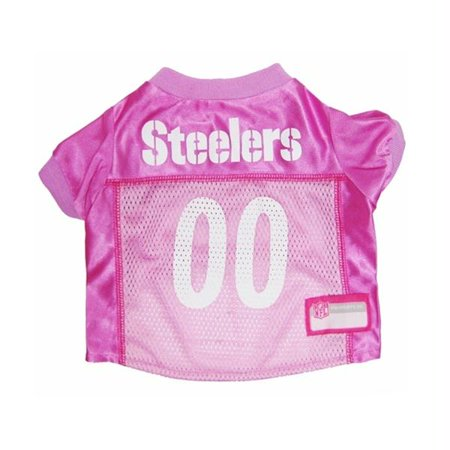 - Pittsburgh Steelers Pink Dog Jersey