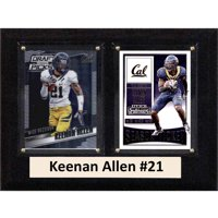 "C & I Collectables NCAA 6"" x 8"" Keenan Allen California Golden Bears 2 Card Plaque"