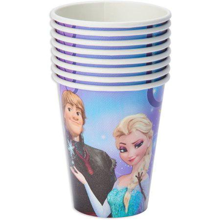 (4 Pack) Frozen Magic Paper Party Cups, 9 oz, 8ct](Frozen Party Pack)