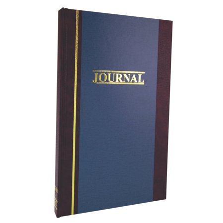 "Single Entry Ledger (Wilson Jones S300 Account Journal, 11 ¾"" x 7 ¼"", 33 Lines, 150 Pages, Single Entry)"