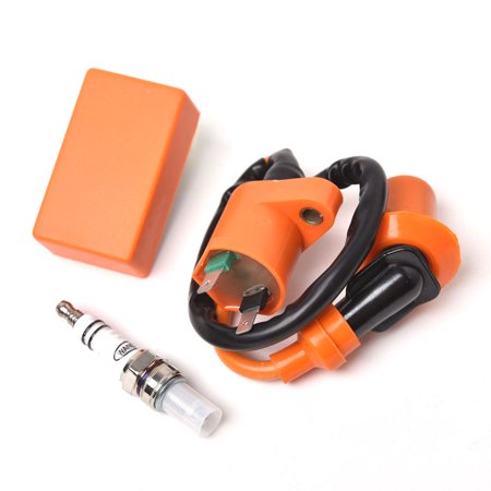 Racing Performance CDI+ Ignition Coil + Spark Plug Gy6 50cc 125cc 150cc Scooter