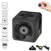 Mini Camera Full HD 1080P with Night Vision and Motion Detection, Super Video Recorder for Car Home and Office Surveillance