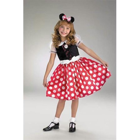 Minnie Mouse Costume 3t (Costumes For All Occasions Dg5036M Minnie Mouse 3T To)