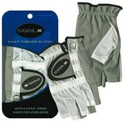 Merchants of Golf Cool X Half Finger Ladies' Gloves, LH