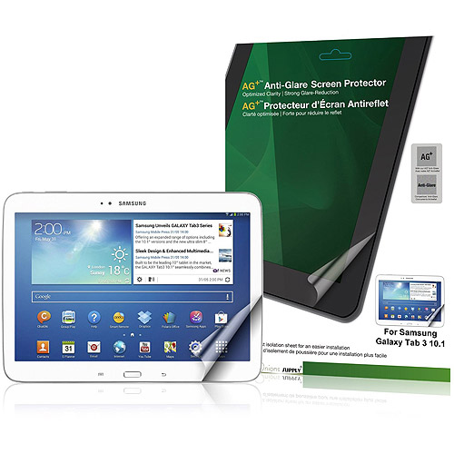 Green Onions Supply AG+ Anti-Glare Screen Protector for Samsung Galaxy Tab 3/10.0 (RT-SPSGT3G1002HD)
