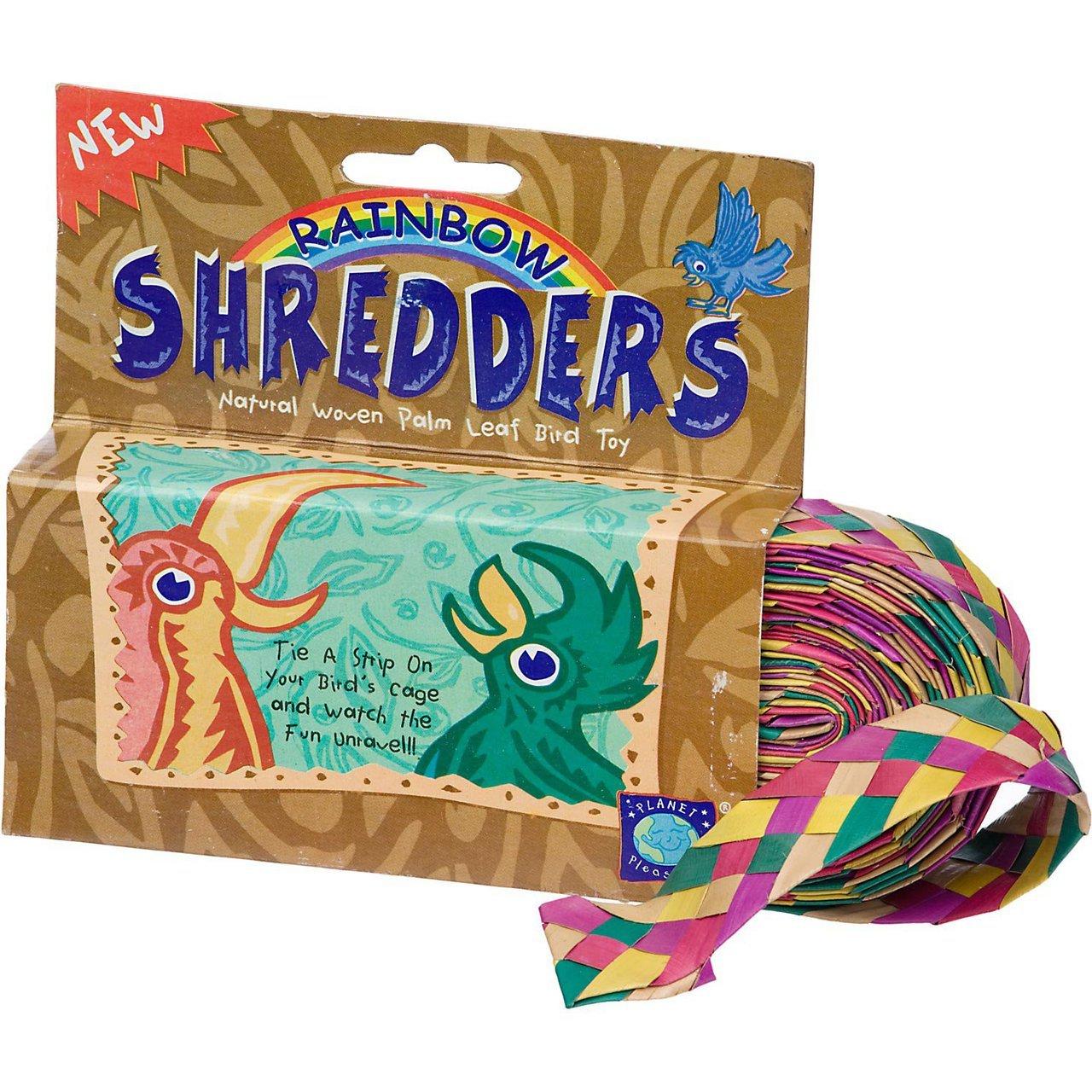 03137 Small Straight Rainbow Shredder