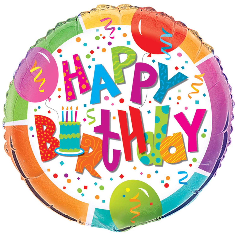 "18"" Foil Birthday Jamboree Balloon - Walmart.com"