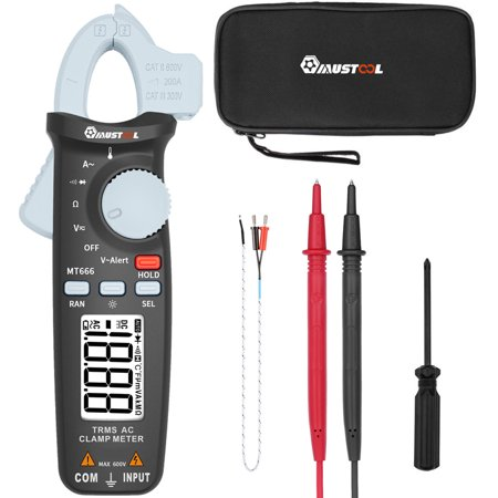 Display Digital Multimeter - MUSTOOL MT866 Multimeter Digital Display With Needle Probes