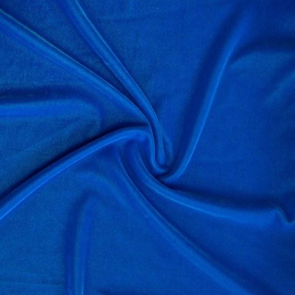 """Micro Velvet Soft Fabric 45"""" inches By the Yard for Sewing Apparel Crafts (White)"""