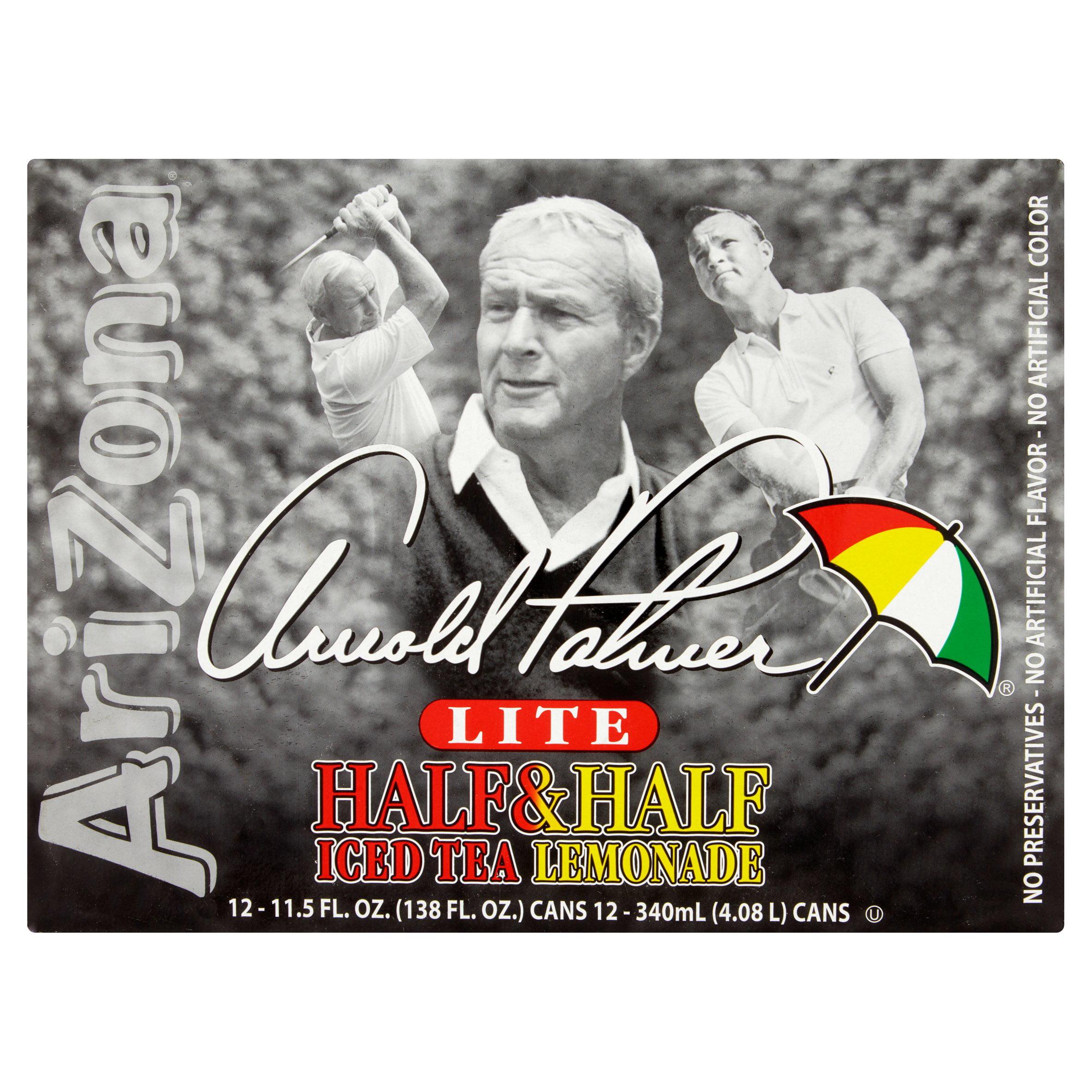 AriZona Arnold Palmer Half & Half Iced Tea Lemonade 12 PK, 138.0 FL OZ by Arizona Beverages USA LLC,